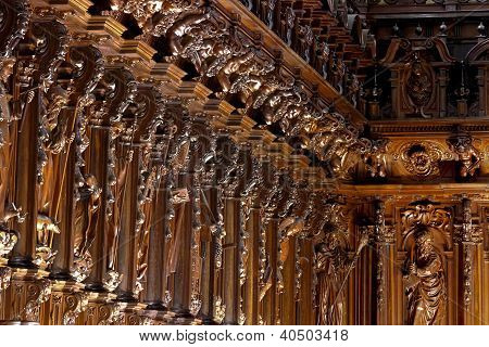 Cathedral choir stalls