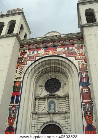 El Salvador - San Salvador's picturesque Metropolitan Cathedral