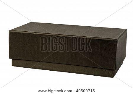 Black Cardboard Box