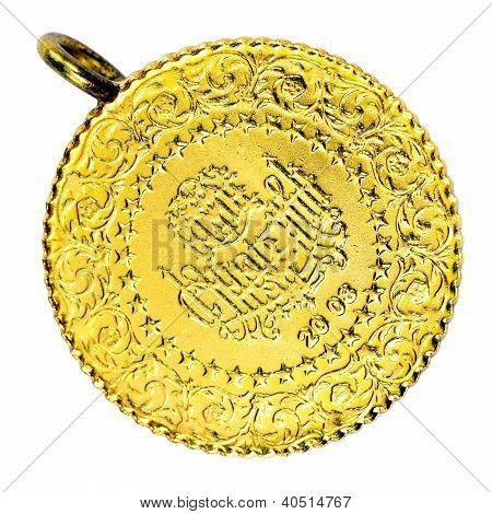 1/4 Turkish Gold