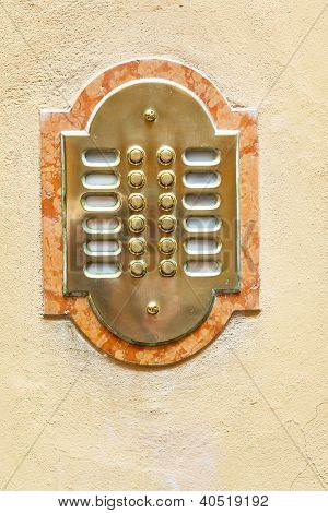 Entrance Door Intercom