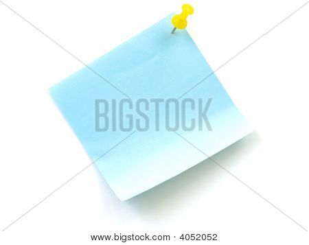 Note Pad With Pin