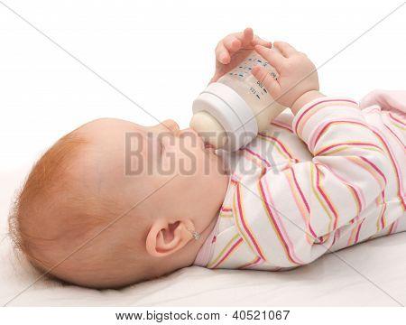 Eating Baby Girl