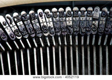 Typewriter Details