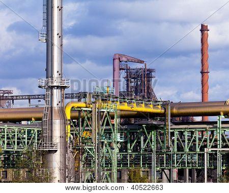 Planta de producción de carbón de coque para la acería de coque