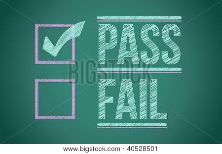 Check Mark For Pass Selection