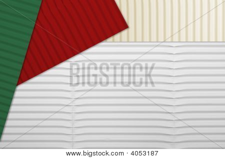 Holiday Corrugated Cardboard