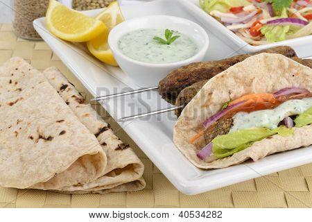 Seekh Kebabs