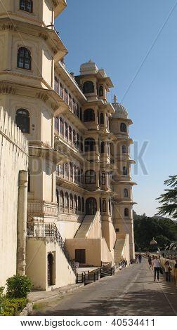 City Palace Udaipur Street