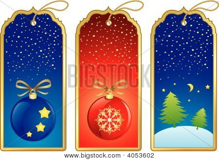 Vector Set Of New Year Design Elements And Frames