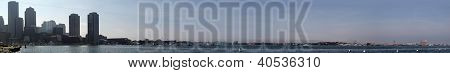 Boston Harbor Panoramic
