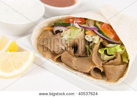 Donner Kebab Wrap