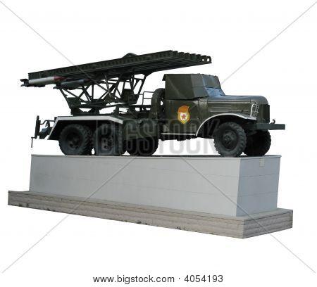 BM 13 Katjuscha Raketenwerfer