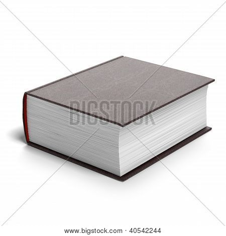 Thick red book