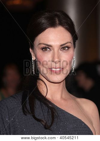 LOS ANGELES - OCT 01:  Michelle Forbes arriving to American Humane Assoc. Hero Dog Awards  on October 01, 2011 in Beverly Hills, CA