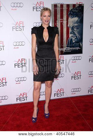 """LOS ANGELES - NOV 03:  Alison Eastwood arriving to """"J. Edgar"""" Los Angeles Premiere  on November 03, 2011 in Hollywood, CA"""