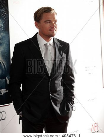 LOS ANGELES - NOV 03:  Leonardo DiCaprio arriving to