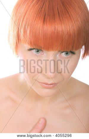 Thoughtfull Redhead