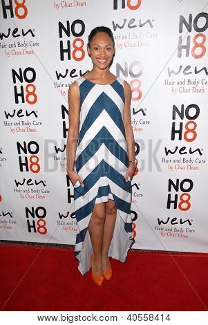 LOS ANGELES - DEC 12:  Lesley-Ann Brandt arrives to the NOH8 4th Anniversary Party at Avalon on December 12, 2012 in Los Angeles, CA