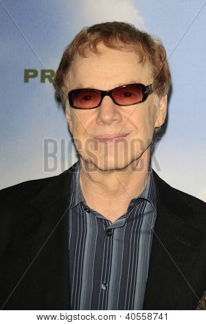 LOS ANGELES - DEC 6:  Danny Elfman arrives at the 'Promised Land' Premiere at Directors Guild of America on December 6, 2012 in Los Angeles, CA