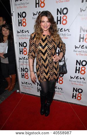 LOS ANGELES - DEC 12:  Cerina Vincent arrives to the NOH8 4th Anniversary Party at Avalon on December 12, 2012 in Los Angeles, CA