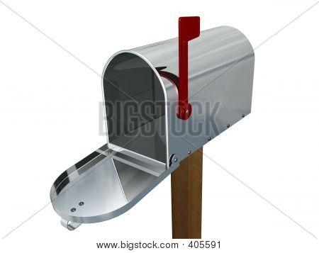 Caixa de correio vazia