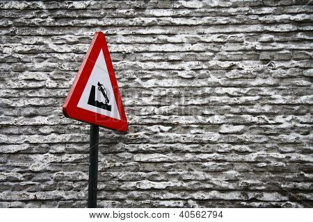 road signs - river bank