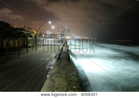 Pier By Night
