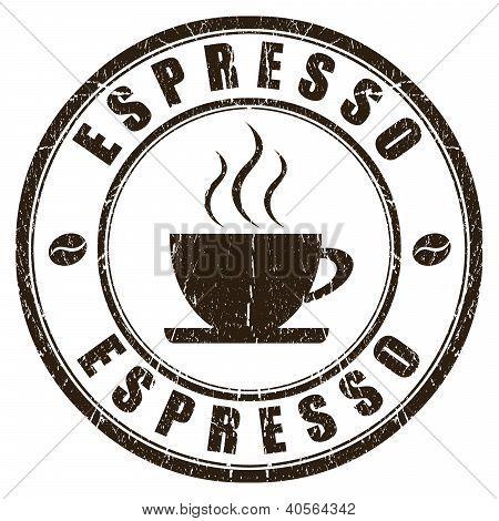 Espresso stamp