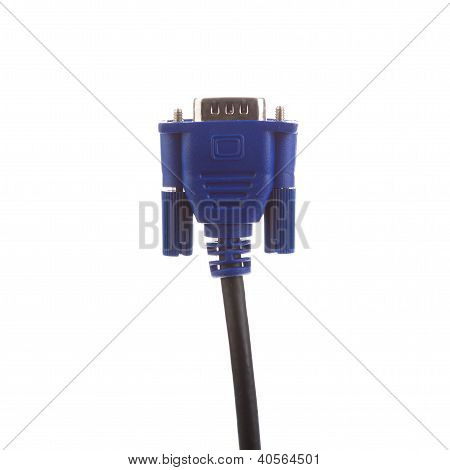 One Blue Vga Cable