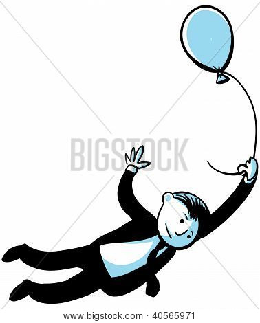 Balloon Businessman