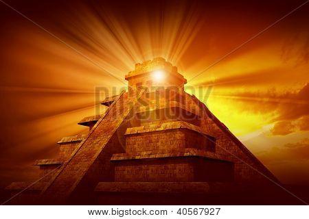 Geheimnis der Maya-Pyramide