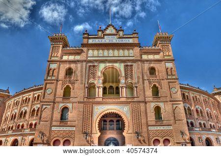 Madrid, Spain - September 30: Plaza De Toros De Las Ventas. It Was Inaugurated On June 17, 1931. It