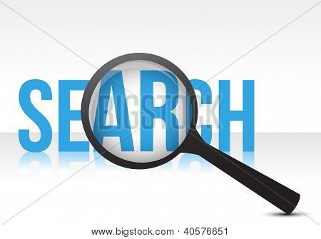 Search With Magnifying Glass