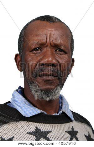 Worried African Man
