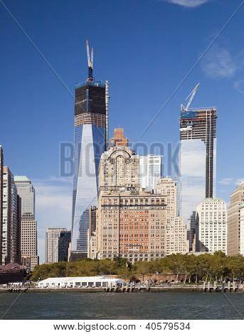 New York City, 19. September: ein World Trade Center (früher bekannt als der Freedom Tower)