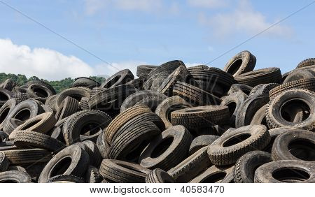Old Tires Heap