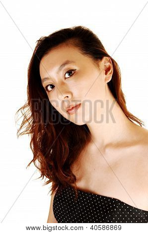 Portrait Of Asian Woman.