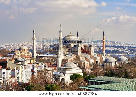Hagia Sophia in Winter