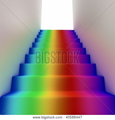Rainbow Stairway