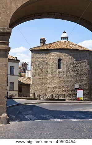Church of St. Maria della Salute. Viterbo. Lazio. Italy.
