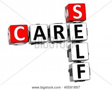 3D Care Self Crossword