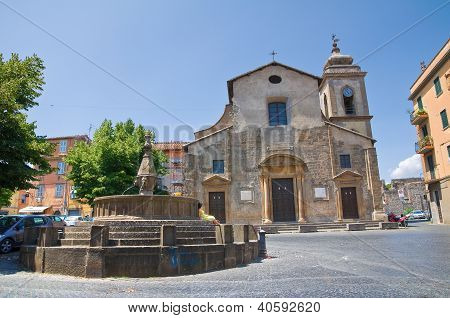 Church of SS. Faustino and Giovita. Viterbo. Lazio. Italy.