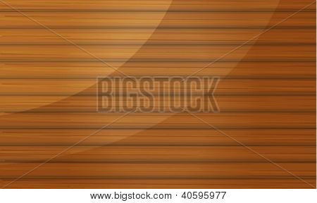 Illustration of a wooden bamboo abstract background