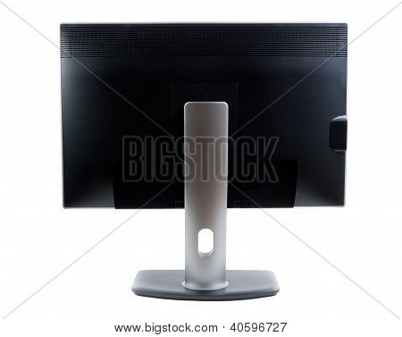 Lcd Monitor, Rear View