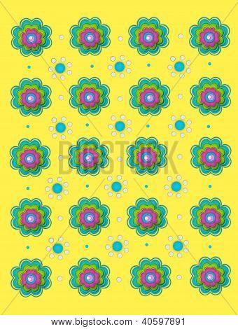 Duo de flor amarillo