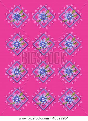 Treliça de jardim-de-rosa quente