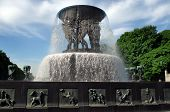 Fountain By Gustav Vigeland In Oslo