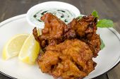 pic of raita  - Onion Bhajis  - JPG
