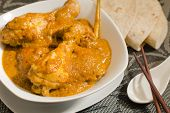 stock photo of ayam  - Chicken Kapitan  - JPG